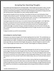 between sessions anxiety worksheets for adults group therapy