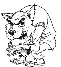 werewolf coloring pages eassume werewolf coloring pages