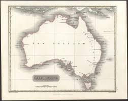 Holland Map 1817 Map Of New Holland Australia Maps Of Australia