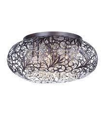 flush mount ceiling light fixtures oil rubbed bronze maxim 24150cgoi arabesque 7 light 18 inch oil rubbed bronze flush