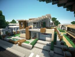 Modern Villas by Modern Villa Minecraft Project