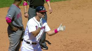 3000 leagues in search of mother braves wear pink gain perspective mlb com