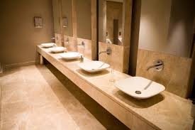 commercial bathroom design ideas restroom mirror on standoffs industrial bath mirrors commercial