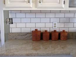 White Subway Tile Kitchen Backsplash Inspiring Off White Subway Tile Kitchen Backsplash Pictures
