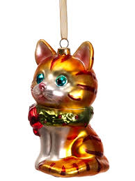 tabby cat ornament 24 best cat ornaments images on