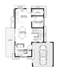 Floor Plan For 2 Storey House Alberto Is A Two Storey House Design That Can Be Fitted In A Not