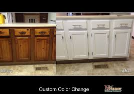 Bathroom Cabinet Refacing Before And After by Cabinet Refinishing Vs Refacing Vs Replacing Renovation Guide