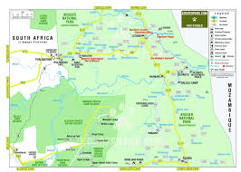 Africa On A Map by Maps Safari Com