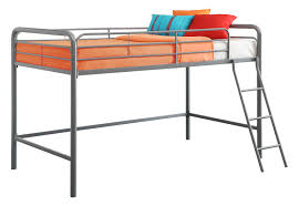 DHP Junior Loft Grey Bunk Bed Walmart Canada - Metal bunk bed ladder
