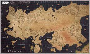 Game Of Thrones World Map by Download