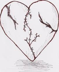 heart drawings tatouagestatouage drawings de broken hearts
