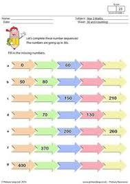year 1 maths this maths worksheet teaches children how to write