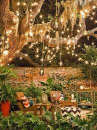 Cool Patio Lighting Ideas Home And Garden Ideas For Decorating Backyard Secret Garden Ideas
