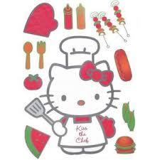 hello fait la cuisine stickers hello achat vente pas cher