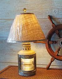 Nautical Table Lamps Nautical Table Lamp Re Purposed Ship U0027s Masthead Light Nautical