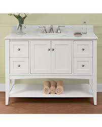 48 White Bathroom Vanity Incredible Deal On 1512 Vh48 Shaker Americana 48