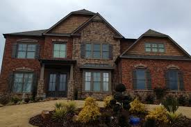 Home Exterior Design Brick And Stone Exterior Design Exciting Versetta Stone With Faux Brick Panels
