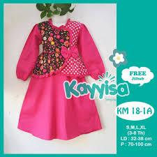 desain baju jepang baju muslim anak berkualitas kayyisa gamis anak kayyisa bahan katun