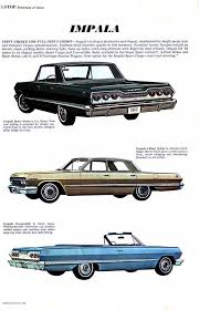 1963 impala specs colors facts history and performance