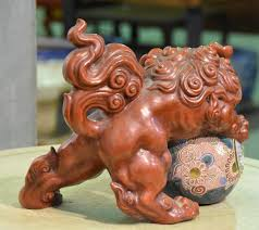 japanese guard dog statues japanese lion dog shi shi edo arts