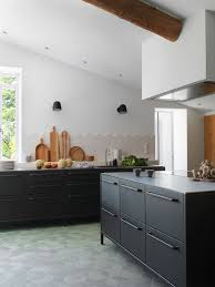 welcome to provence black steel kitchen from vipp architecture