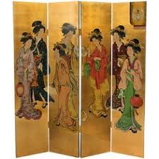 hand painted chinese room divider gjs 002 chinese furniture
