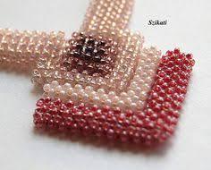 szikati oldala right angle weave pinterest beads bead