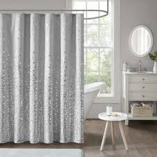 Grey And Silver Curtains Silver Shower Curtains For Less Overstock Vibrant Fabric