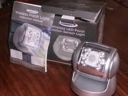 zennox wireless led porch motion sensor light for sale in