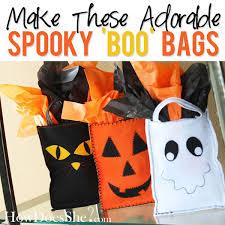 spooky boo bags