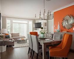 deco chambre orange décoration deco chambre orange et gris 12 nantes 10291301 clac