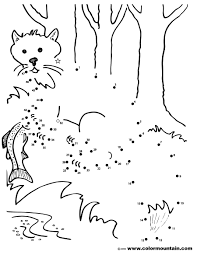 dot coloring pages fox dot to dot coloring page create a printout or activity