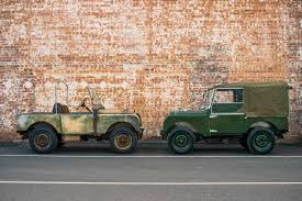 convertible land rover vintage it lives it dies it lives again land rover series 1 u0027reborn