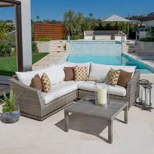 Round Sectional Patio Furniture - furniture fill your patio with outstanding portofino patio