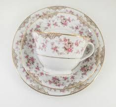 vintage china with pink roses noritake rc japan rosalie vintage china pink roses teacup trio