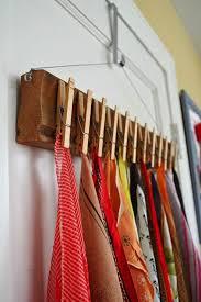 wohnideen zu basteln wohnideen selber machen tücher aufhängen wäscheklammern