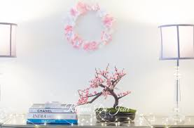 spring decorations for the home cherry blossom spring decor rehana du jour