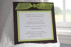 easy baby shower invitations simple monogram baby shower