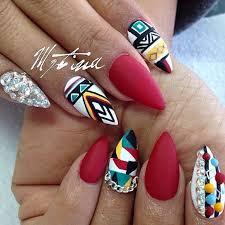 32 stunning almond nail design nail design ideaz