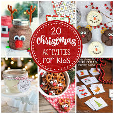 Crazy Christmas Party Ideas 25 Fun Christmas Activities For Kids Crazy Little Projects