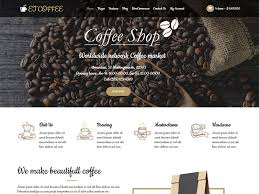 Et Coffee et coffee free responsive coffee theme