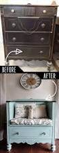 furniture hacks diy furniture hacks unused old dresser turned bench cool ideas
