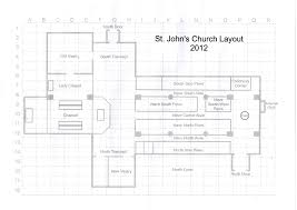 100 anglican church floor plan st augustines anglican