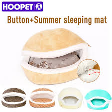 sale warm cat bed house hamburger bed disassemblability