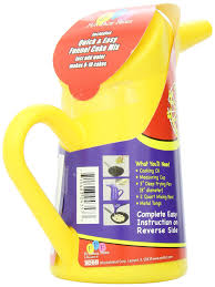 amazon com carnival funnel cake pitcher u0026 mix funnel cake