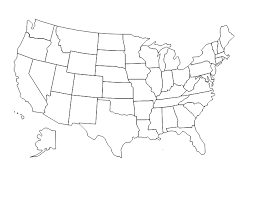 united states map vector united states map with states b w clip at clker vector