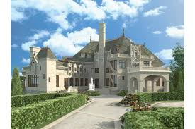 chateauesque house plans home plan homepw00276 7394 square foot 3 bedroom 2 bathroom