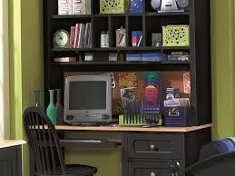 small office unique small home office desk with hutch with for