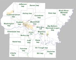 Arkansas River Map File Independence County Arkansas 2010 Township Map Large Jpg