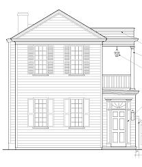 charleston single house plans arts